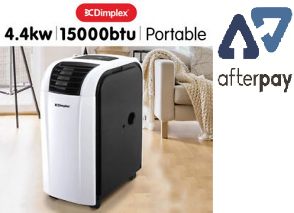 dimplex dc15rcbw 4 4kw reverse cycle portable air conditioner with dehumidifier